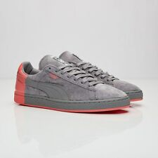 Puma Suede x Staple 361617-03 Gray/Pink Men Size US 12 NEW 100% Authentic