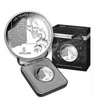 2015 Western Australia 125 Years State Government $5 Pure Silver Proof Coin RAM