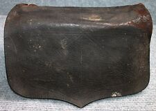 Great War of 1812 US Militia Cartridge Box in Leather and Wood