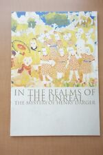 In The Realms of The Unreal Japanese Movie Program Pamphlet 2004 Henry Darger