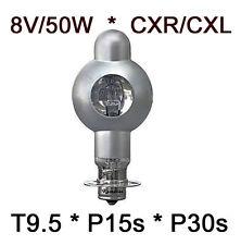 8V 50W Projektor Lampe 8V/50W Projector Bulb 8v/50w Projectorlampe P15s CXR-CXL