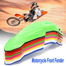 Pro Universal Front Fender Mudguard motorcycle Pit Dirt Bike Motocross Supermoto