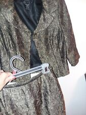 Virgo Ladies Suit Jacket and Skirt Size 8 P