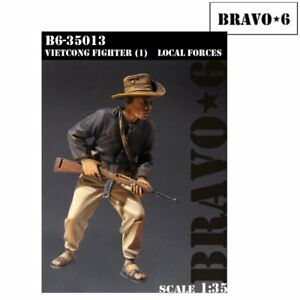 Bravo 6 Vietcong Fighter Local Forces 1/35 scale resin figure B635013