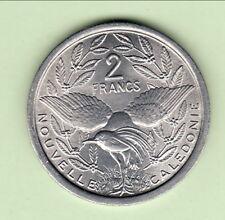 NOUVELLE CALEDONIE  FDC NEUVE 2 FR ALU 1971  chouette  cote 25 euro