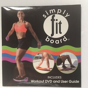 Simply Fit Board Workout DVD & Workout User Guide Sealed  (No Board)