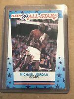 1989-90 Fleer All-Stars Stickers 3 Michael Jordan- NM-Mint