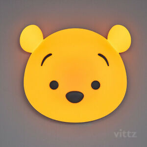 [Vittz] Disney Winnie the Pooh Kids Wall Light Lamp USB Charging Baby Interior