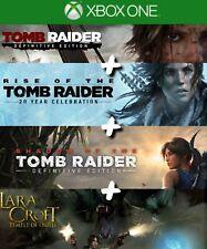 Tomb Raider Collection Xbox One [LIRE L'ANNONCE]