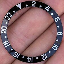 Rolex GMT-Master 1675 16750 Super Fat Font Black Bezel Insert ORIGINAL