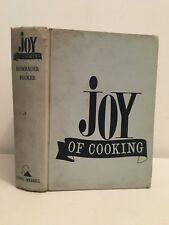 Joy of cooking The bobbs-Merrill 1963