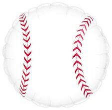 "SPORTS BASEBALL BIRTHDAY PARTY BALLOON - 17"" FOIL BALLOON!"