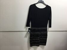 Bebe ladies medium NWT beaded detail GORGEOUS DRESS