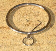 "Halsfessel Halskette Handschellen boundshop de KUB KB 903 N 16"" neckcollar"