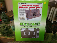Metcalfe PO277 Low Relief Stone Terraced House Backs kit OO scale