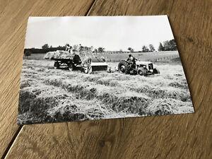 Massey Ferguson MF 35 Traktor Werksfoto CLAAS + RARITÄT - von 1962