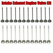 Intake Exhaust Engine Valve Kit Set for Chrysler Dodge 3.2L 3.5L 4.0L SOHC 24V