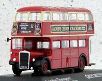 LONDON TRANSPORT RTW Double Decker - red - Atlas 1:76