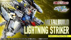 METAL BUILD LIGHTNING STRIKER GUNDAM SEED Alternative STRIKE ship from Japan