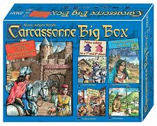 Carcassonne Big Box 5 [Board Game, Z-Man Exclusive, Includes All Expansions] NEW