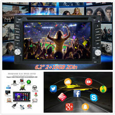 """Android 9.0 6.2"""" 2+16GB 2Din Car GPS DVD Player Stereo Radio WIFI Mirror Link"""