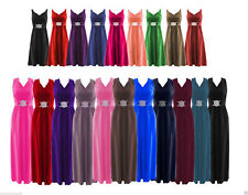 Unbranded Plus Size Polyester Dresses without Pattern for Women