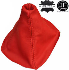 RED REAL LEATHER MANUAL SHIFT BOOT FITS MITSUBISHI 3000GT GTO 1990-2000
