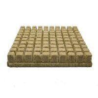 1 Inch Grodan Rockwool Cubes, Sheet of 100