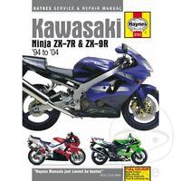 Kawasaki ZX-9R 900 D Ninja Kat 1998 Haynes Service Repair Manual 3721