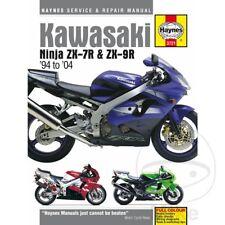 KAWASAKI ZX-9R 900 d Ninja Kat 1998 Haynes Manual de reparación de servicio 3721