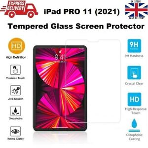REAL Tempered Glass Screen Protector iPad PRO 2021 11 inches (A2377/A245/A2301)
