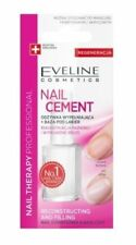 EVELINE COSMETICS NAIL CEMENT NAIL CONDITIONER BASE COAT RECONSTRUCTION FILLING