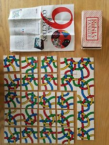 Rubiks Tangle No. 1 Vintage Card Puzzle Game Boxed Skill Strategy Pocket Sized