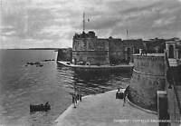 Cartolina Taranto Castello Aragonese Animata