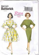 Vintage 60s Retro Rockabilly Slim Wiggle Dress Sewing Pattern Sz 14 16 18 20 22