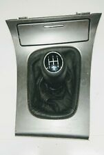 Genuine Saab 9-3 Leather 5 Speed Gear Stick Shifter Selector Knob & Surround