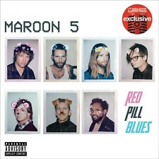 Maroon 5 Red Pill Blues CD EXCLUSIVE TARGET 4 EXTRA SONGS + POSTER INSIDE NEW