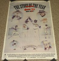 Baltimore Orioles Baseball Poster The Story Of The Year '89 Why Not 1989 Ripken