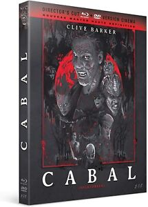 CABAL CLIVE BARKER  COMBO BLU RAY ET DVD   NEUF SOUS CELLOPHANE