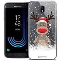 "Coque Crystal Gel Pour Samsung Galaxy J5 2017 J530 (5.2"") Extra Fine Souple Noël"