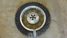 1967 montesa texas 175 S792~ rear wheel rim alloy akront 18""