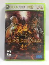 Kingdom Under Fire: Circle of Doom (Xbox 360) New, Worn & Torn Shrinkwrap