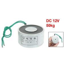 Succhiato sollevamento elettrico magnete Elettromagnete 12VDC 50Kg 110LB 50x27mm