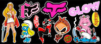 Girl Stuff Vinyl Sticker Pack #1