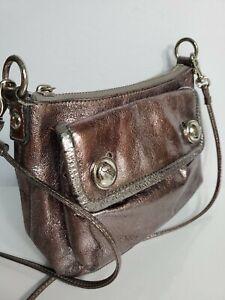 "Coach poppy woman crossbody bag 6.5x8"" ~24"" strap drop"