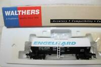 WALTHERS HO SCALE UTLX 16K GALLON TUNNEL FLOW TANK CAR - ENGLHARD #25495