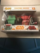 FUNKO POP! FIGHTING DROIDS 2 PACK GAMESTOP EXCLUSIVE STAR WARS SOLO