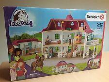 SCHLEICH® HORSE CLUB® 42416 Großer Pferdehof mit Wohnhaus und Stall, NEU & OVP