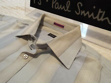 "PAUL SMITH Mens Shirt 🌍 Size 15.5"" (CHEST 44"") 🌎 RRP £95+ 🌏 SUPERBLY STRIPED"