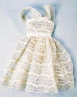 Barbie Orange Blossom Lace Dress Mattel 987 Vintage Doll Clothes 1961-64